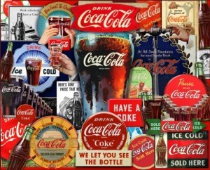 Coca Cola Decades Tradition 2000 Piece Jigsaw Puzzle